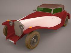 Delage Special Roadster 3D Model