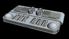 Starship part 2 3D Model