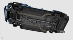 3D Engine SUSPENSION for Toyota Altezza 04 3D Model