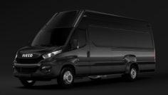 Iveco Daily Van 2014-2016 L5H3 3D Model