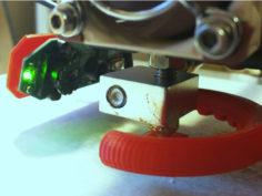Anet A8 – Logitech C310 Webcam Nozzle Mount 3D Print Model