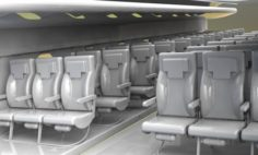 AIRCRAFT SEAT 3D Model