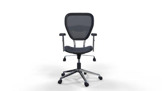 Clark armchair 3 3D Model