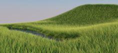 Stunning realistic glade VR – AR – low-poly 3D Model