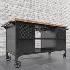 Bar Cart 3D Model