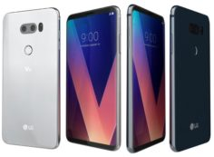 LG V30 Cloud Silver And Moroccan Blue 3D Model