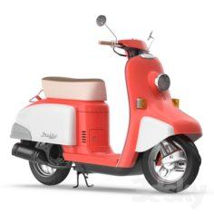 Honda Julio Scooter                                      3D Model
