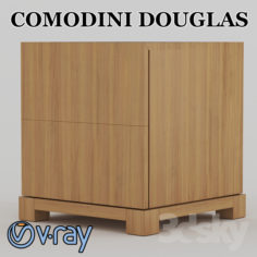 COMODINI DOUGLAS                                      Free 3D Model