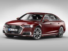 Audi A8 (2018) 3D Model