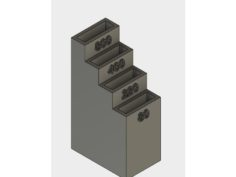 Sandpaper holder 3D Print Model