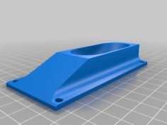 3 Inch wheel chocks, with mounting holes 3D Print Model