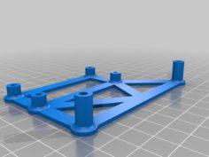 Raspberry Pi Zero (W) Mount Bracket for Anet A8 3D Print Model