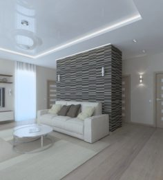 Awesome living room 3D Model