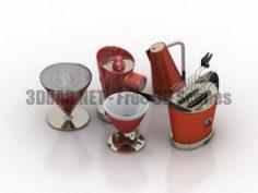 Bugatti Kitchen set 3D Collection