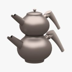 Kitchen Accessorie 10 Teapot 3D Model