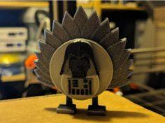 Darth Turkey 3D Print Model
