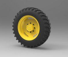 Tractor wheel 3D Model