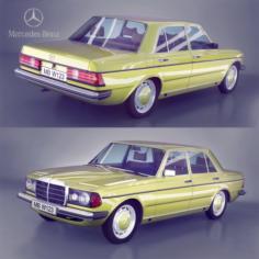Mercedes-Benz 230E 3D Model