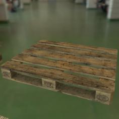 Pallet Pack PBR 3D Model