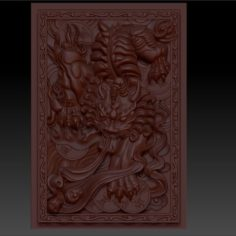 Mythical Wild Animal  Pixiu 3D Print Model