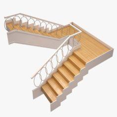 Stair 03 3D Model