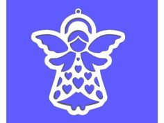 Angel Ornament 3D Print Model