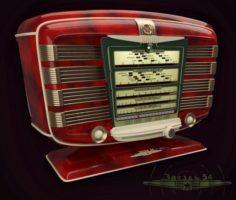 Radio Zvezda-54 3D Model