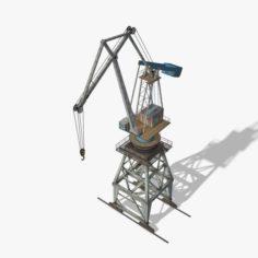Port Crane 3D Model