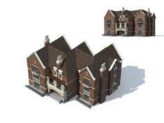 City – Villa 11142 3D Model