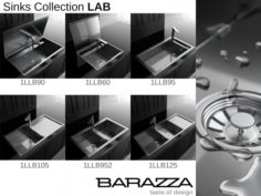 Sink by Barazza – Collection LAB 3D Model