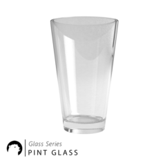Glass Series – Pint Glass 3D Model