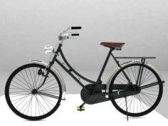 Bicycle Antique Ontel 3D Model