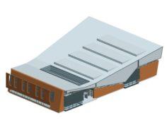 City planning office building fashion design – 548 3D Model