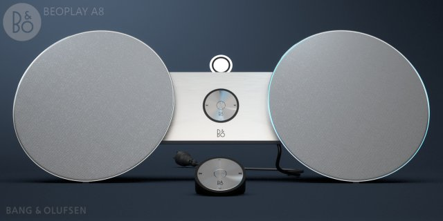 Beoplay A8 – by Bang Olufsen 3D Model