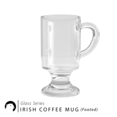 Glass Series – Irish Coffee Mug Footed 3D Model