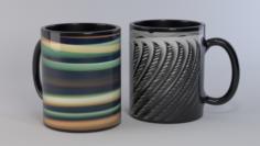 Ceramic Cups 3D Model