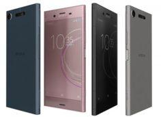 Sony Xperia XZ1 All Colors 3D Model