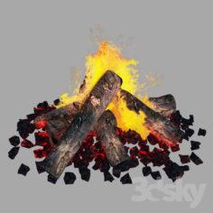 Bonfire                                      Free 3D Model