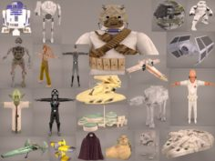 Star Wars Collection 1 3D Model