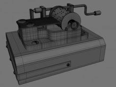 Music Box V1 3D Model