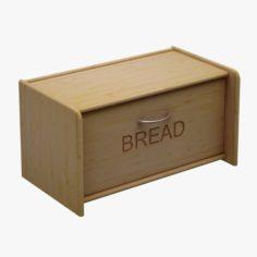 Kitchen Accessorie 11 Bread Box 3D Model