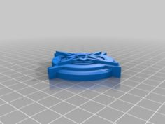 Starfinder Society Badge 3D Print Model