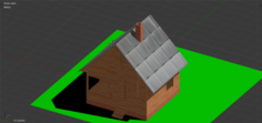 Template of the house 3D Model