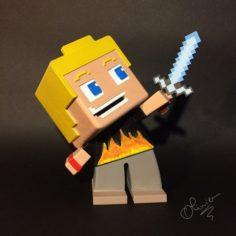 Minecraft 3D Print Model