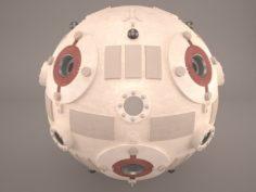 Star Wars Training Droid Marksman 3D Model