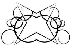 Tribal Tattoo 04 3D Model