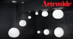 Meteorite – by Artemide – Suspension and wall set 3D Model