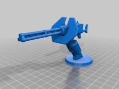 Halo Chain Gun Turret 3D Print Model