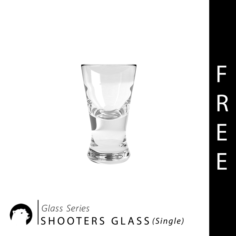 Glass Series – Shooters Glass Single Free 3D Model
