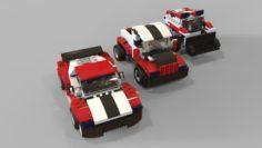 Lego cars pack 2 3D Model